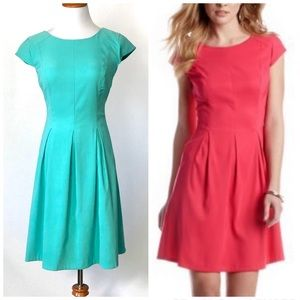 AGB Fit and Flare Cap Sleeve Dress
